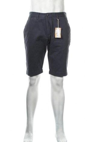 Ανδρικό κοντό παντελόνι Knowledge Cotton Apparel, Μέγεθος L, Χρώμα Μπλέ, Βαμβάκι, Τιμή 42,14€