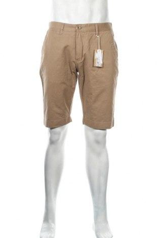 Ανδρικό κοντό παντελόνι Knowledge Cotton Apparel, Μέγεθος L, Χρώμα  Μπέζ, Βαμβάκι, Τιμή 42,14€