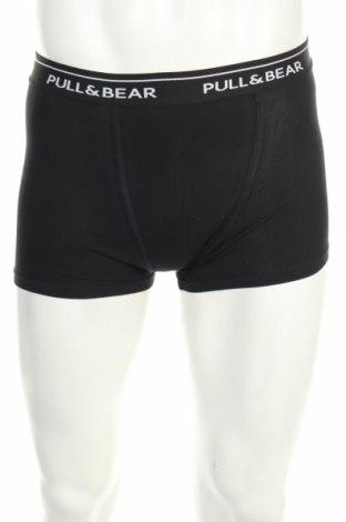 Мъжки комплект Pull&Bear, Размер S, Цвят Бял, 95% памук, 5% еластан, Цена 18,98лв.