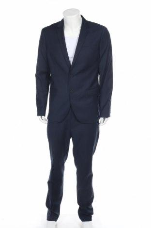 Ανδρικό κοστούμι Kiomi, Μέγεθος L, Χρώμα Μπλέ, 70% πολυεστέρας, 30% βισκόζη, Τιμή 43,30€