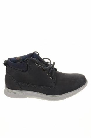 Мъжки обувки Bata, Размер 42, Цвят Син, Естествена кожа, Цена 47,60лв.