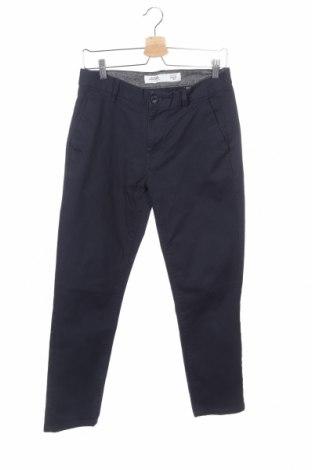Ανδρικό παντελόνι Burton of London, Μέγεθος S, Χρώμα Μπλέ, 98% βαμβάκι, 2% ελαστάνη, Τιμή 4,11€