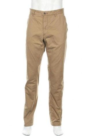 Мъжки панталон H&M L.O.G.G., Размер L, Цвят Бежов, Памук, Цена 17,75лв.