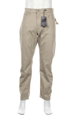 Мъжки панталон Lucky Brand, Размер L, Цвят Бежов, 96% памук, 4% еластан, Цена 38,22лв.