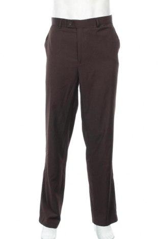 Ανδρικό παντελόνι Ponti, Μέγεθος XL, Χρώμα Καφέ, Πολυεστέρας, βισκόζη, Τιμή 20,78€