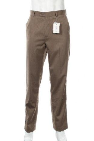 Ανδρικό παντελόνι Ponti, Μέγεθος M, Χρώμα Καφέ, Πολυεστέρας, βισκόζη, Τιμή 26,53€