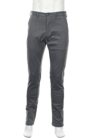 Мъжки панталон Uniqlo, Размер S, Цвят Сив, 60% памук, 37% полиестер, 3% еластан, Цена 8,82лв.