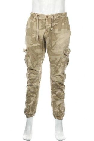 Мъжки панталон Urban Classics, Размер M, Цвят Бежов, 98% памук, 2% еластан, Цена 37,96лв.