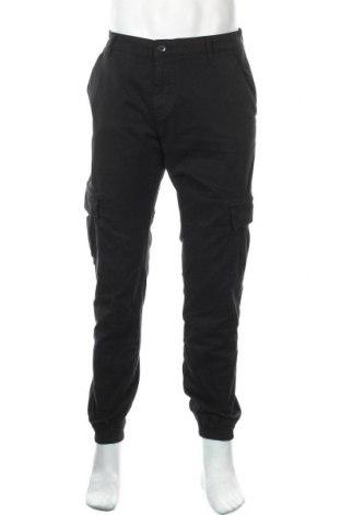 Мъжки панталон Urban Classics, Размер L, Цвят Черен, 98% памук, 2% еластан, Цена 39,42лв.