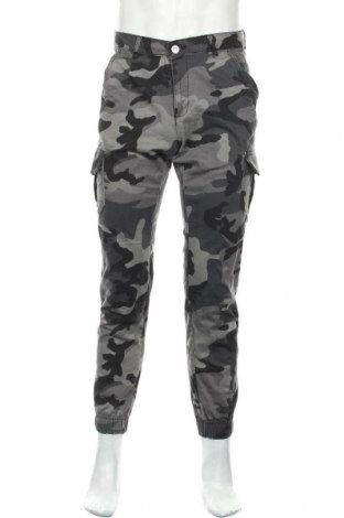 Мъжки панталон Urban Classics, Размер S, Цвят Сив, 98% памук, 2% еластан, Цена 37,96лв.