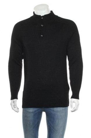 Ανδρικό πουλόβερ Damart, Μέγεθος S, Χρώμα Μαύρο, 50%ακρυλικό, 30% μαλλί, 20% άλλα νήματα, Τιμή 22,64€