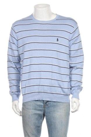 Мъжки пуловер Polo By Ralph Lauren, Размер XL, Цвят Син, Памук, Цена 39,22лв.