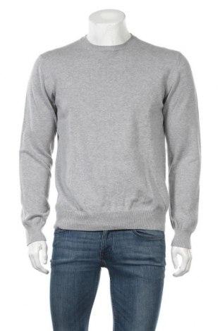 Ανδρικό πουλόβερ Vinci, Μέγεθος L, Χρώμα Γκρί, Βαμβάκι, Τιμή 18,84€