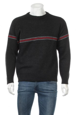Ανδρικό πουλόβερ Vinci, Μέγεθος S, Χρώμα Μαύρο, 50% μαλλί, 50%ακρυλικό, Τιμή 15,59€