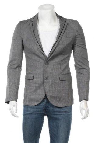 Ανδρικό σακάκι Bossini, Μέγεθος S, Χρώμα Γκρί, 70% μαλλί, 30% πολυεστέρας, Τιμή 15,20€