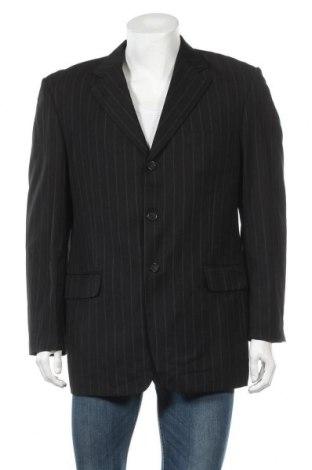 Ανδρικό σακάκι P.O. Box, Μέγεθος L, Χρώμα Μαύρο, Πολυεστέρας, Τιμή 15,59€