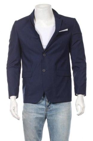 Ανδρικό σακάκι Pascal Morabito, Μέγεθος M, Χρώμα Μπλέ, 65% πολυεστέρας, 35% βισκόζη, Τιμή 33,02€