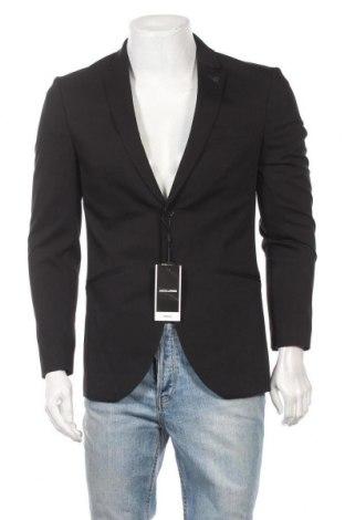 Мъжко сако Premium By Jack & Jones, Размер M, Цвят Черен, 78% полиестер, 17% вискоза, 5% еластан, Цена 38,87лв.