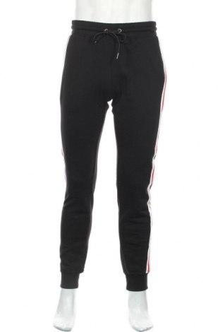 Мъжко спортно долнище Urban Classics, Размер M, Цвят Черен, 65% памук, 35% полиестер, Цена 37,96лв.