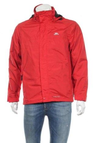 Ανδρικό αθλητικό μπουφάν Trespass, Μέγεθος S, Χρώμα Κόκκινο, Πολυαμίδη, Τιμή 37,67€