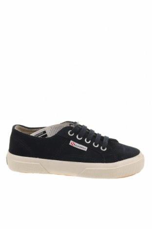 Παπούτσια Superga, Μέγεθος 35, Χρώμα Μπλέ, Φυσικό σουέτ, Τιμή 37,11€