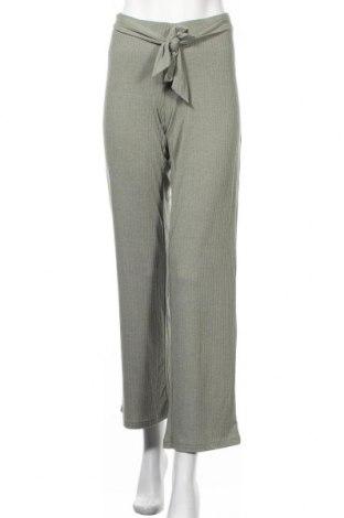 Панталон за бременни Mamalicious, Размер S, Цвят Зелен, 66% полиестер, 29% вискоза, 5% еластан, Цена 29,90лв.