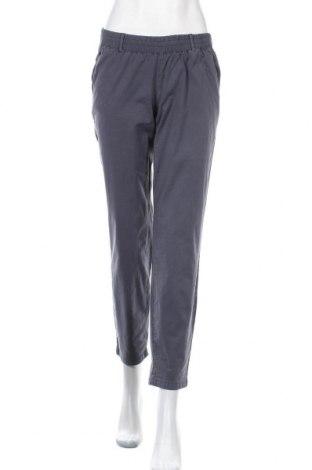 Панталон за бременни Mamalicious, Размер S, Цвят Син, 98% памук, 2% еластан, Цена 48,10лв.