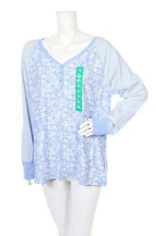 Пижама, Размер XL, Цвят Син, 60% памук, 37% вискоза, 3% еластан, Цена 36,75лв.