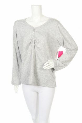 Пижама, Размер XXL, Цвят Сив, Полиестер, памук, Цена 10,66лв.