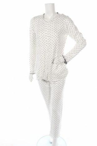 Пижама Canat, Размер L, Цвят Бял, Памук, Цена 68,67лв.
