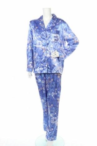 Пижама Target, Размер L, Цвят Син, Полиестер, памук, Цена 39,69лв.
