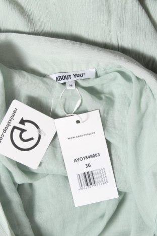 Пола About You, Размер S, Цвят Зелен, Вискоза, Цена 12,56лв.