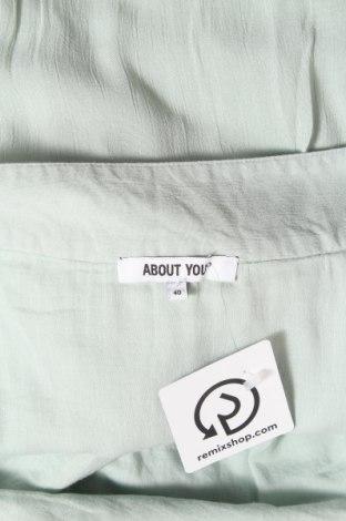 Пола About You, Размер M, Цвят Зелен, Вискоза, Цена 11,96лв.