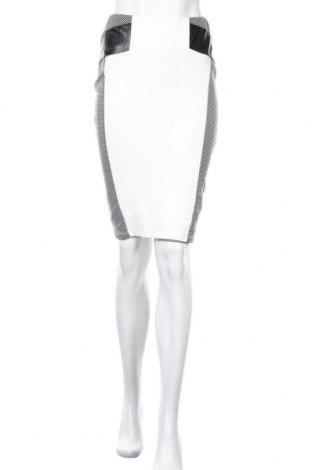 Пола Body Flirt, Размер XS, Цвят Бял, Вискоза, полиестер, еластан, еко кожа, Цена 16,80лв.