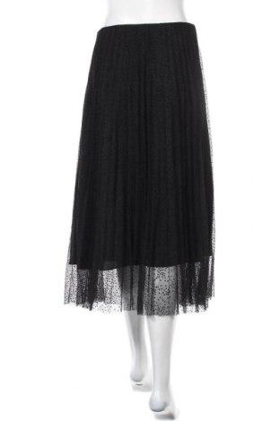 Пола Zara, Размер M, Цвят Черен, Полиестер, Цена 62,00лв.