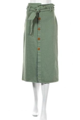 Пола Zara Trafaluc, Размер M, Цвят Зелен, Цена 28,50лв.