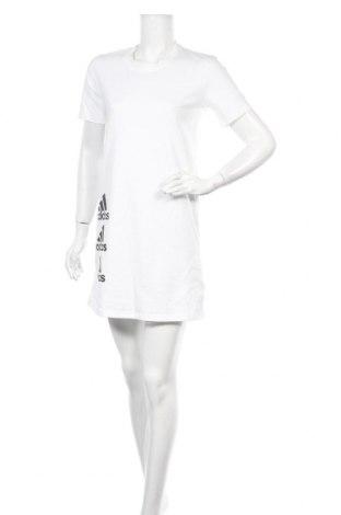 Φόρεμα Adidas, Μέγεθος XS, Χρώμα Λευκό, Βαμβάκι, Τιμή 40,82€