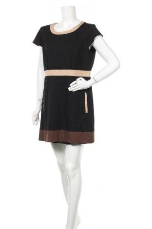 Φόρεμα G.W., Μέγεθος L, Χρώμα Μαύρο, 58% βισκόζη, 36% πολυαμίδη, 6% ελαστάνη, Τιμή 10,69€
