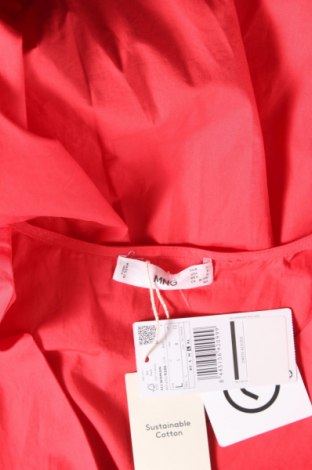 Рокля Mango, Размер L, Цвят Червен, Памук, Цена 44,25лв.