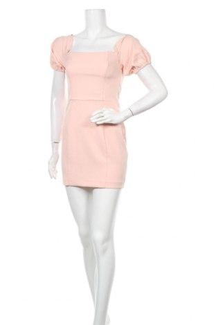 Рокля Miss Selfridge, Размер XS, Цвят Розов, 90% полиестер, 10% еластан, Цена 54,00лв.