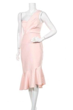Рокля Miss Selfridge, Размер M, Цвят Розов, 93% полиестер, 7% еластан, Цена 96,75лв.