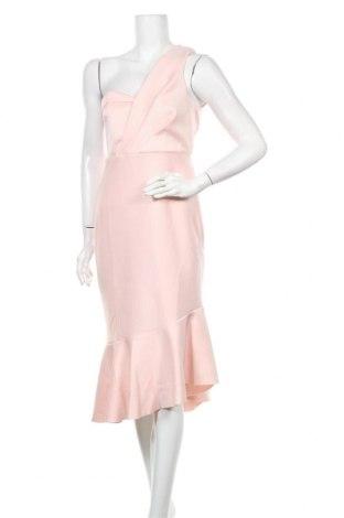 Рокля Miss Selfridge, Размер M, Цвят Розов, 93% полиестер, 7% еластан, Цена 84,00лв.