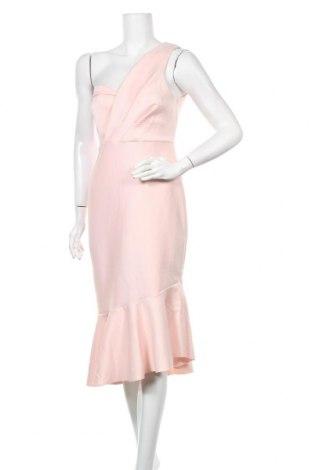 Рокля Miss Selfridge, Размер M, Цвят Розов, 93% полиестер, 7% еластан, Цена 89,25лв.