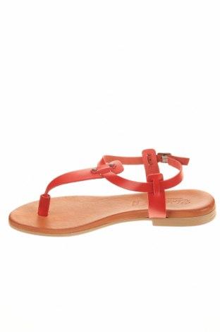 Σανδάλια, Μέγεθος 36, Χρώμα Κόκκινο, Γνήσιο δέρμα, Τιμή 19,56€