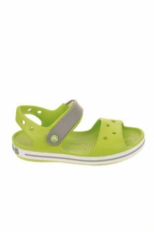 Σανδάλια Crocs, Μέγεθος 32, Χρώμα Πράσινο, Πολυουρεθάνης, Τιμή 24,33€
