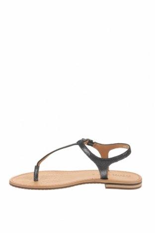 Сандали Geox, Размер 39, Цвят Черен, Естествена кожа, Цена 111,75лв.