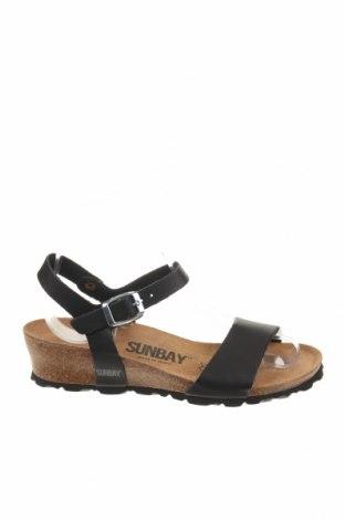 Σανδάλια Sunbay, Μέγεθος 36, Χρώμα Μαύρο, Δερματίνη, Τιμή 36,70€