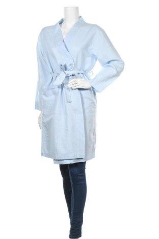 Дамско яке, Размер M, Цвят Син, 55% лен, 45% памук, Цена 35,28лв.