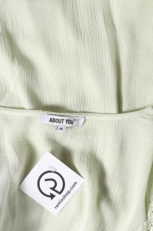 Туника About You, Размер M, Цвят Зелен, Вискоза, Цена 38,40лв.