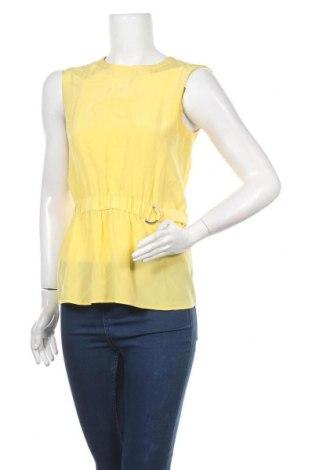 Τουνίκ Hugo Boss, Μέγεθος XS, Χρώμα Κίτρινο, Μετάξι, Τιμή 41,52€